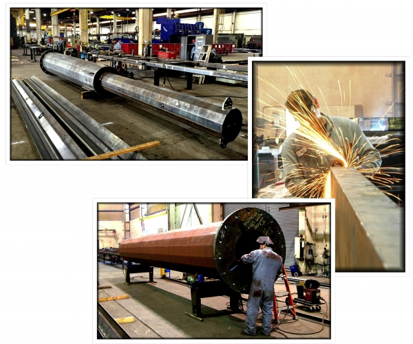 Pole Fabrication, Steel Fabrication, Fabricated Poles